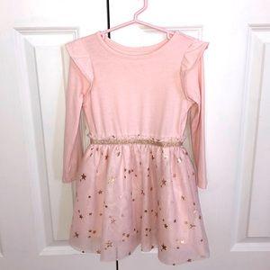 Light pink long sleeve tutu dress